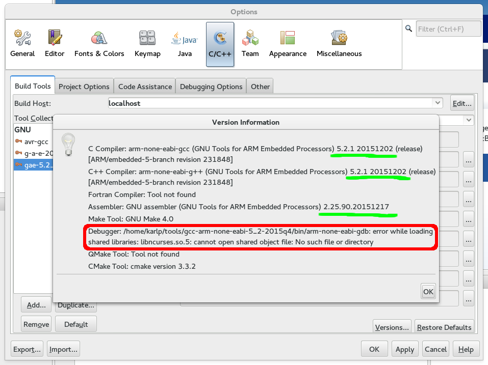 Using NetBeans for STM32 development with OpenOCD | False